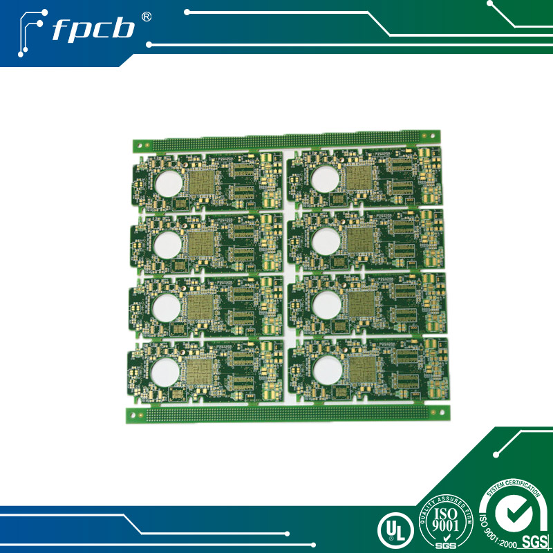 Immersion gold cheap price 1.6mm 6 layers fr4 pcb assembly