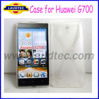 For Huawei Ascend G700 X-Line TPU GEL Mobile Phone Case