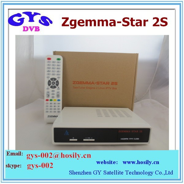 Zgemma Star 2S twin tuner DVB-S2 Satellite tv Receiver Best selling zgemma s2 in UK