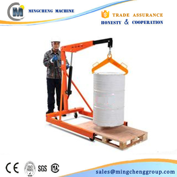 Small Manual Hand Drive Lift Hydraulic Engine Crane