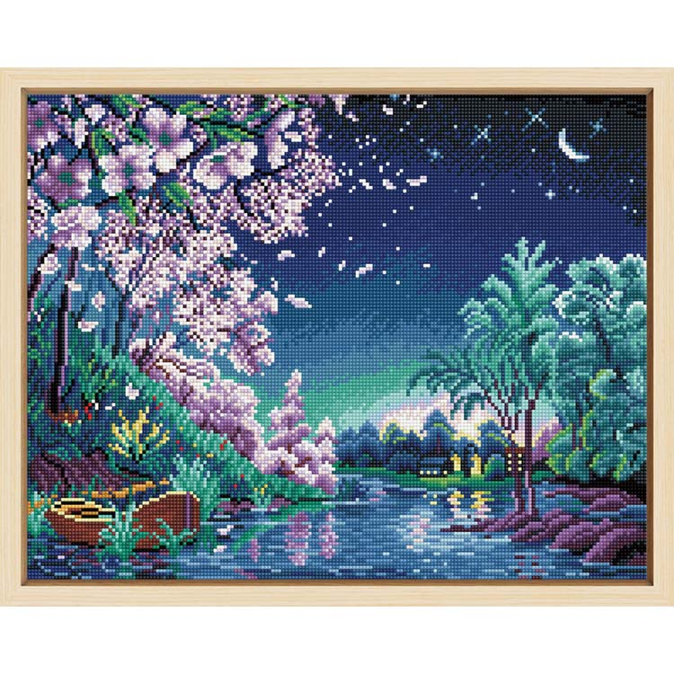 Factory sale fashionable custom diamond painting starry sky