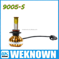 high power led headlight bulb 9005 yellow
