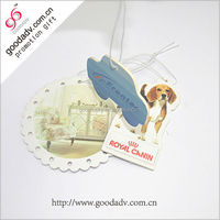 Factory custom merry christmas gift paper car air freshener