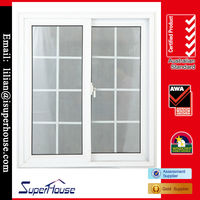 pvc sliding screen windows with AS2047