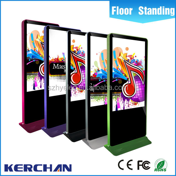 2015 hot sale 55 inch Floor Standing roof mount screen with tv with CE/FCC/ROHS