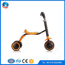 Alibaba Express 2015 New Products On China Market 2 IN 1 3 Wheel Mobility Kids Scooter