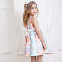Z60982Y european fashion child cute dress picture of children casual dress