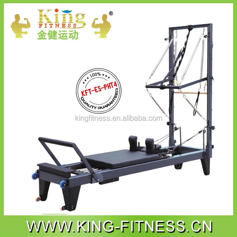 pilates aluminium reformer with tower