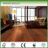 Click system thickness 12mm veneer 4mm oak engineered wood flooring