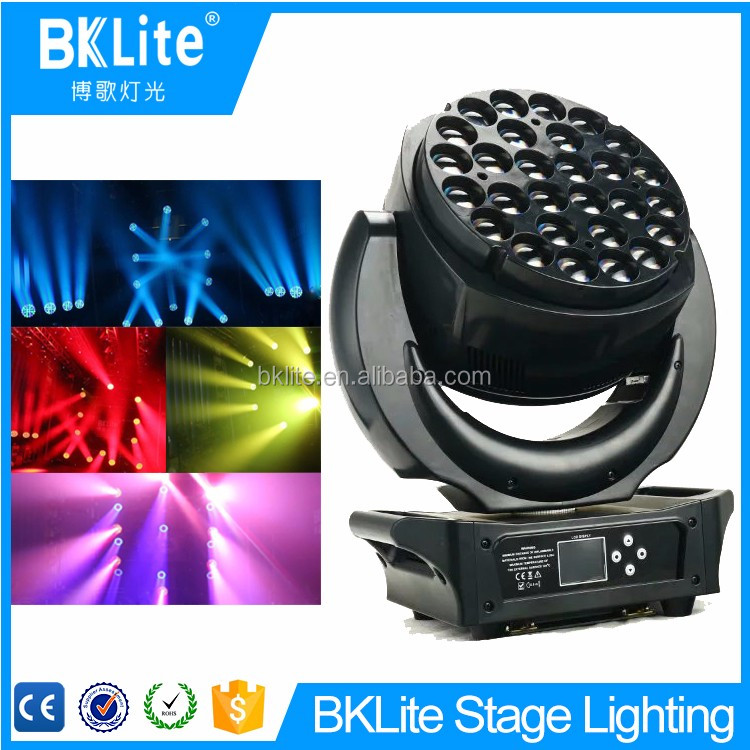 2017 BKLITE high brightness rgbw led light panel wash led moving head light