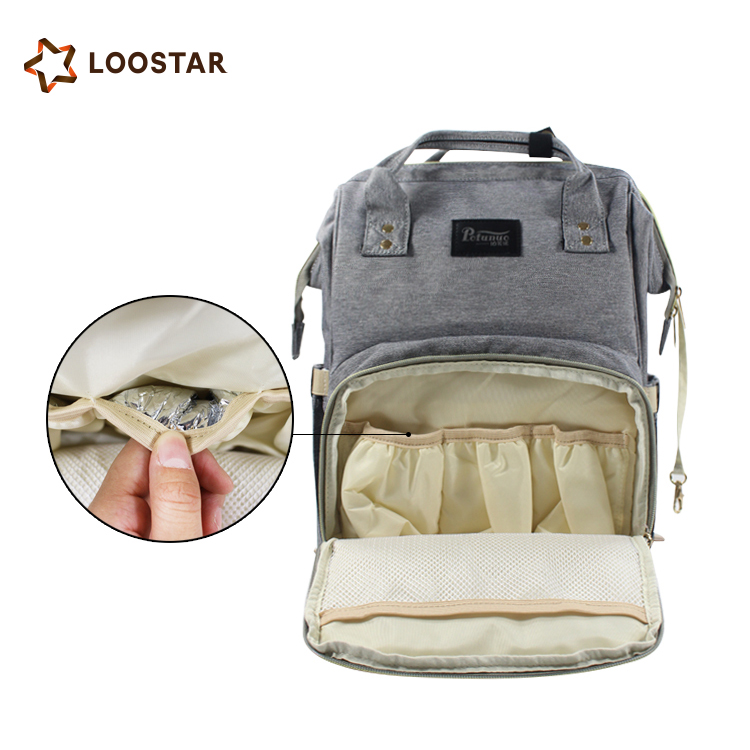 10 Colors Available Large Capacity Mommy Baby Nappy Bag Backpack Diaper Bag