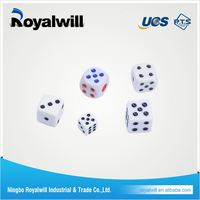 cheap colorful transparent blank plastic dice