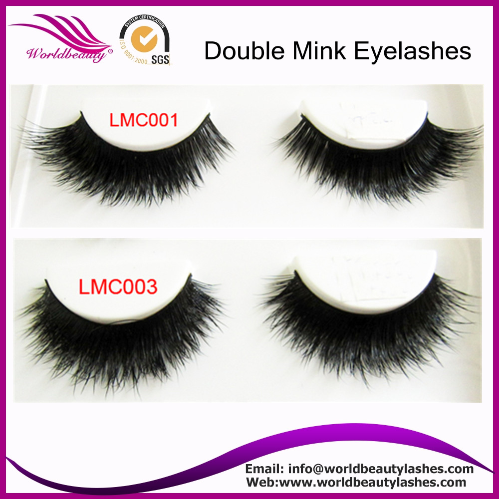 Double Layer Mink Fur Eyelashes