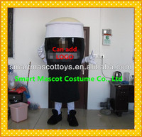 China manufacture guinness beer bottle costume for promotion usage giant adult guinness beer mascot costume