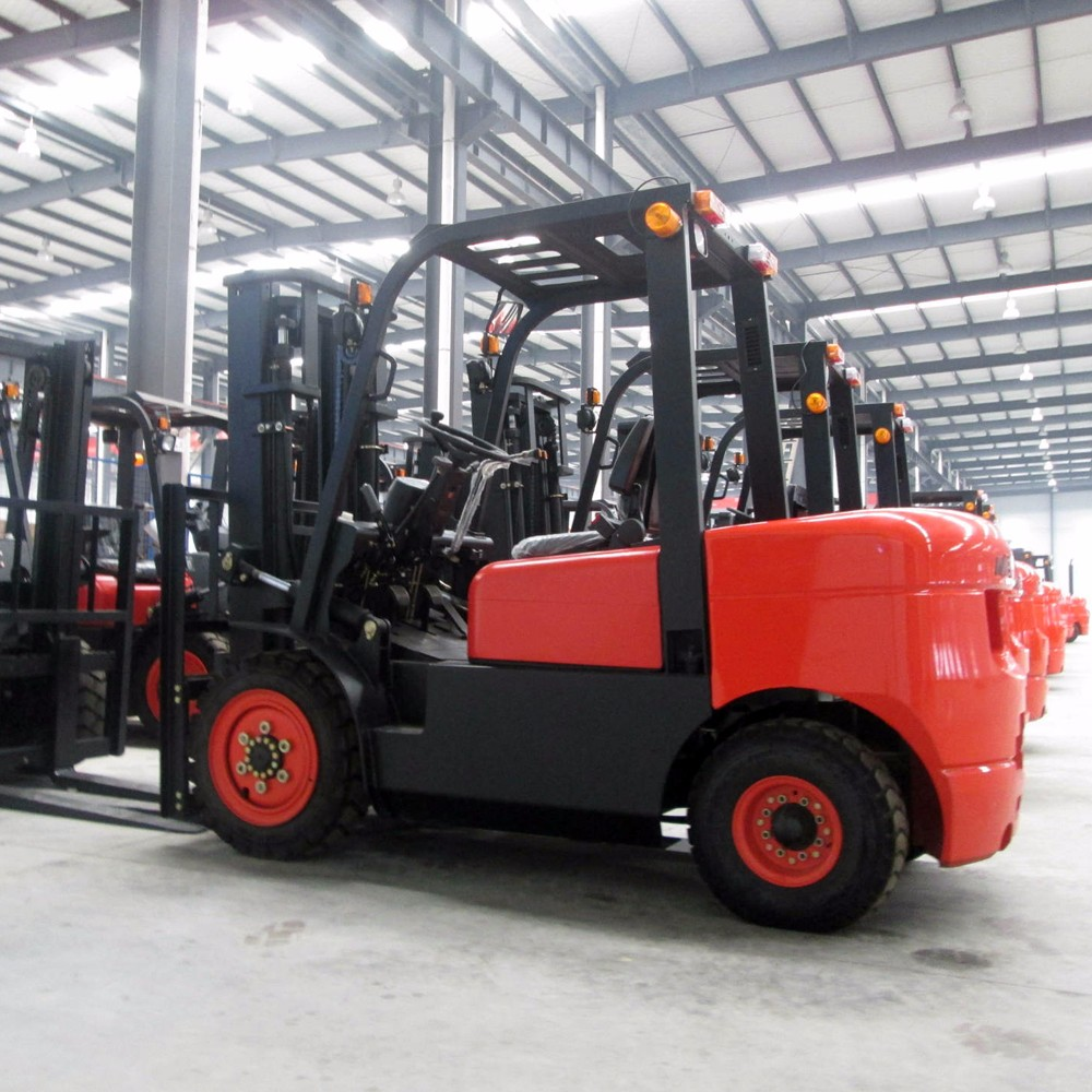 High quality 4 ton loading capacity forklift diesel forklift 4 ton