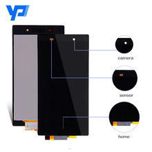 Lcd For Sony Xperia Z Z1 Z3 L39h C6902 C6903 C6943 D6502 D6503 D6543 D6603 LCD Display with Touch Digitizer Screen Assembly