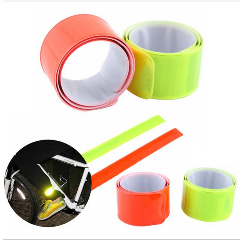 Hot Sale High Quality Hi Vis Customized Reflective Slap Band Gift
