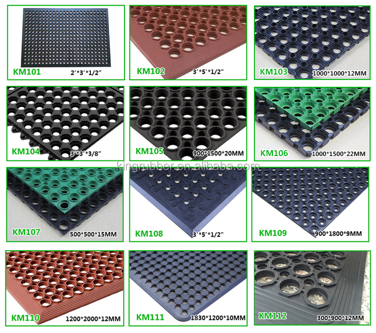 beveled edges rubber kitchen mat Trade Assurance