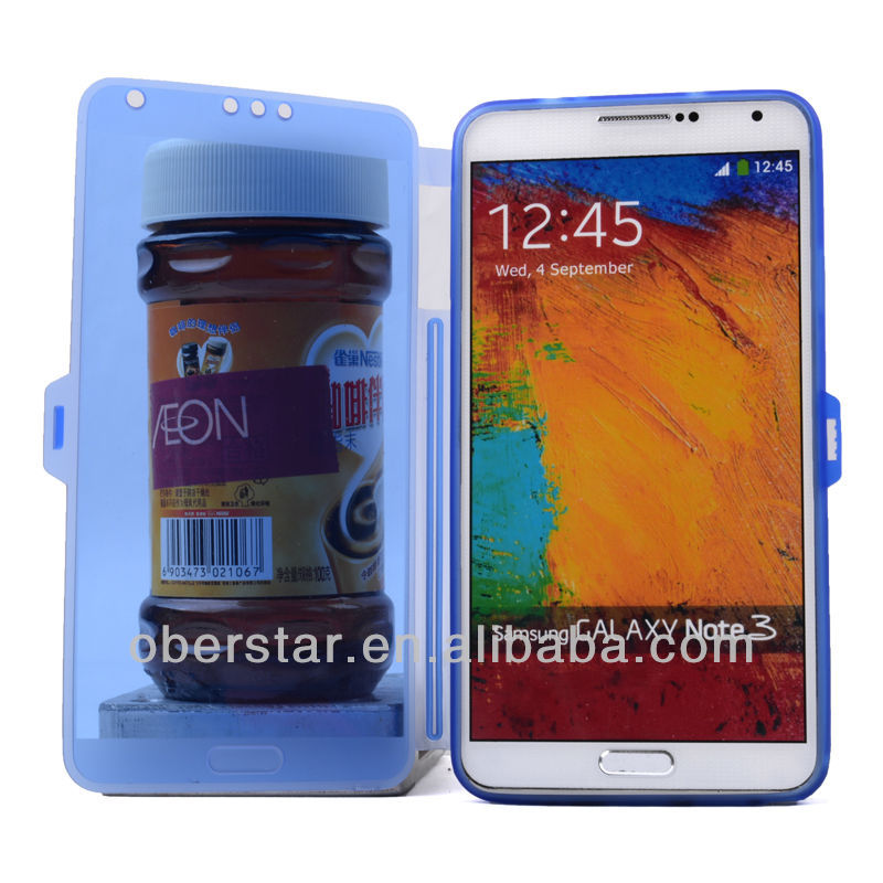 Clear Transparent Soft Buckle TPU Case For Samsung Galaxy Note 3 N9000