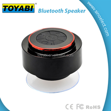 Bluetooth Shower Speaker SpeakStick With Lifetime Guarantee Rechargeable Waterproof and Portable With Mini USB Connection