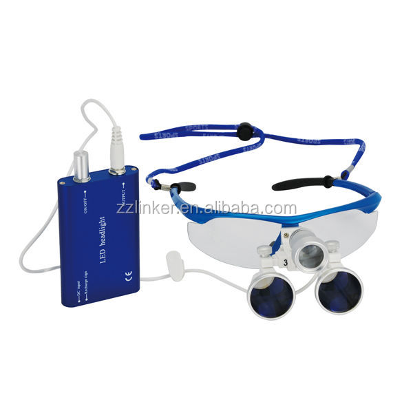 Waterproof loupes/colorful dental loupes 2.5 times