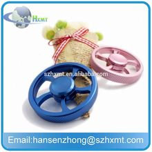 Sale Crazy 2017 Fashion colorful rainbow hand spinner toys with fidget spinner Aluminum Alloy Tri
