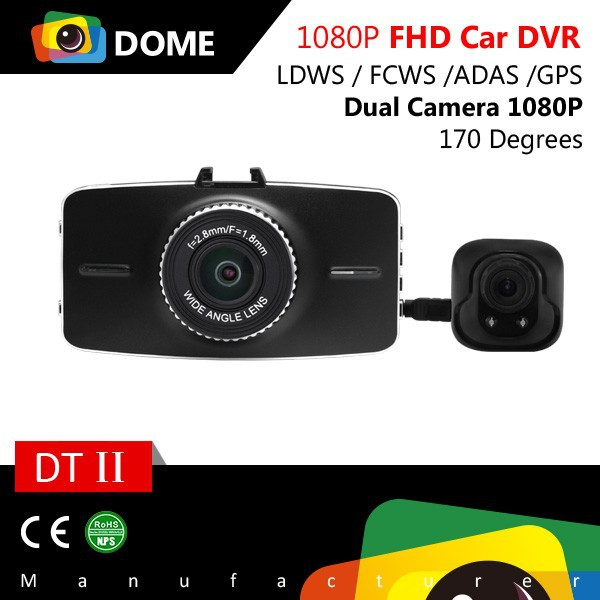 Factory Supply Blackview dual 1080P H.264 Car DVR 360 degree Dash cam