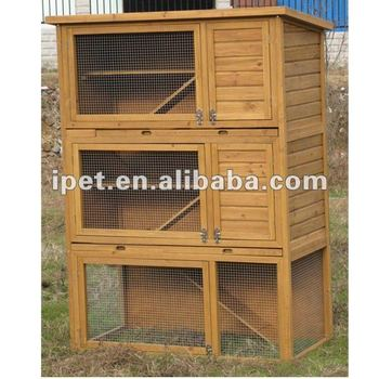 how to build a rabbit hutch cheap