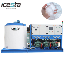 Shenzhen Industrial flaker ice maker Flake Ice Machine 10T