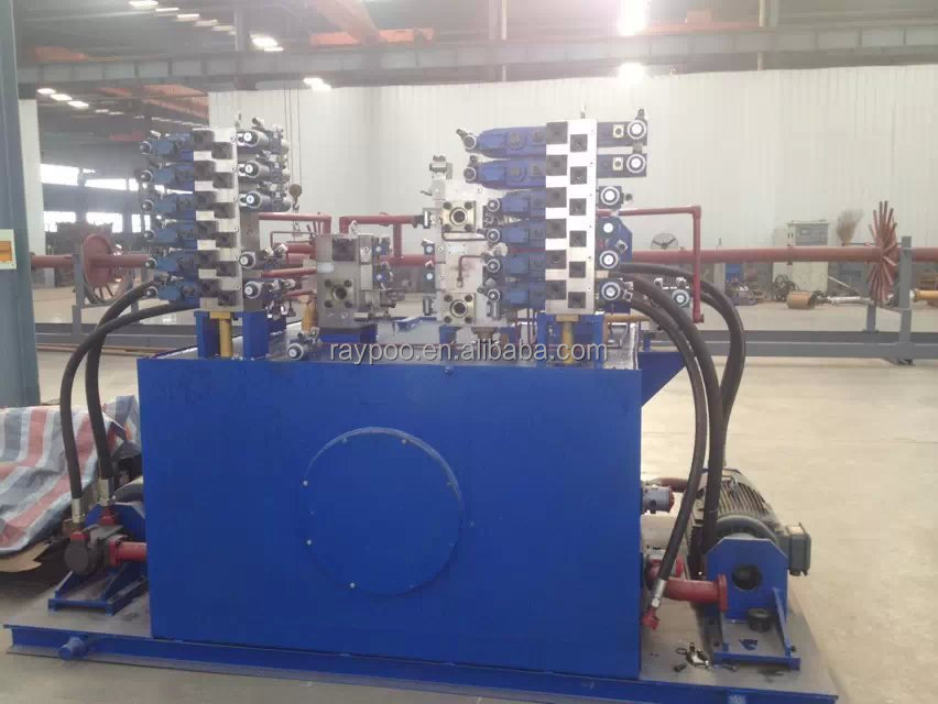 Hydraulic station is applied to the hydraulic paving brick making machine