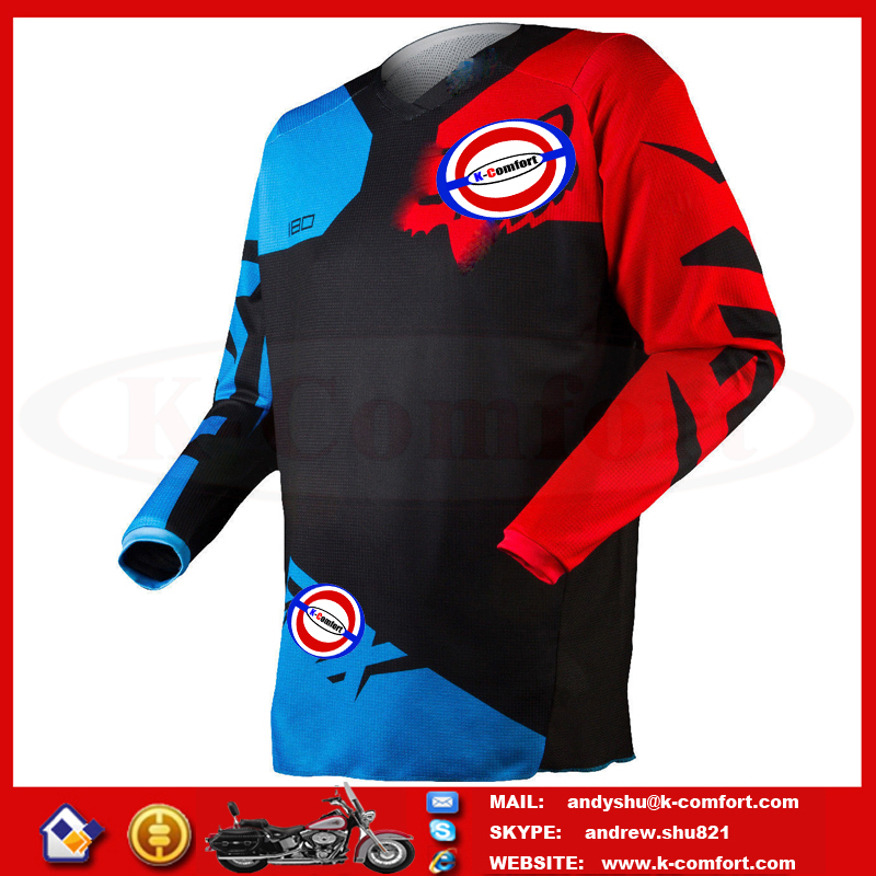J1KC90 High quality Motorcycle accessories Motor safety wears Motorcycle sport jersey Adult motorcross jersey for sale