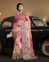 EXPENSIVE DESIGNER WEDDING SAREES ON SALE SARI LENGHA BAZAAR DIAMOND BEAD STONE WORK REASONABLE SARIS
