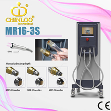 2015 MR16-3S CE approval best rf skin tightening face lifting machine for skin care