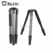 XILETU L404C Luxury Bird Watching Carbon Fiber Tripod With 40mm Large Tube for Arca Swiss DSLR Digital Camera Video