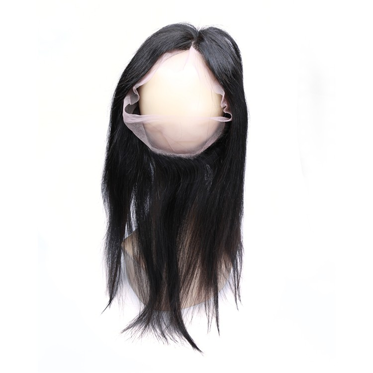 XBL cheap Cambodian straight silk base closure 360 lace frontal