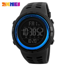 2017 new alibaba skmei 1251 high quality waterproof fashion digital watch from China