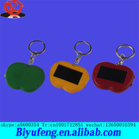 ICTI certificated custom make plastic led toy key chain with sound button