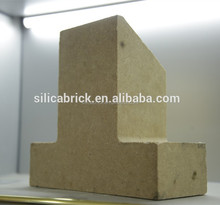 Good heat resistance and long service lifesilica brick for glass melting furnace/glass kiln