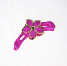Wholesale Duck Bill Clips Hair Clip Alligator Hair Clips Colorful Plastic Flower Hair Claw for Kids.