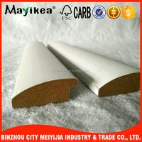 Home decorative pu crown molding/ MDF / Wood / Laminated mirror glass kitchen cabinet baseboard