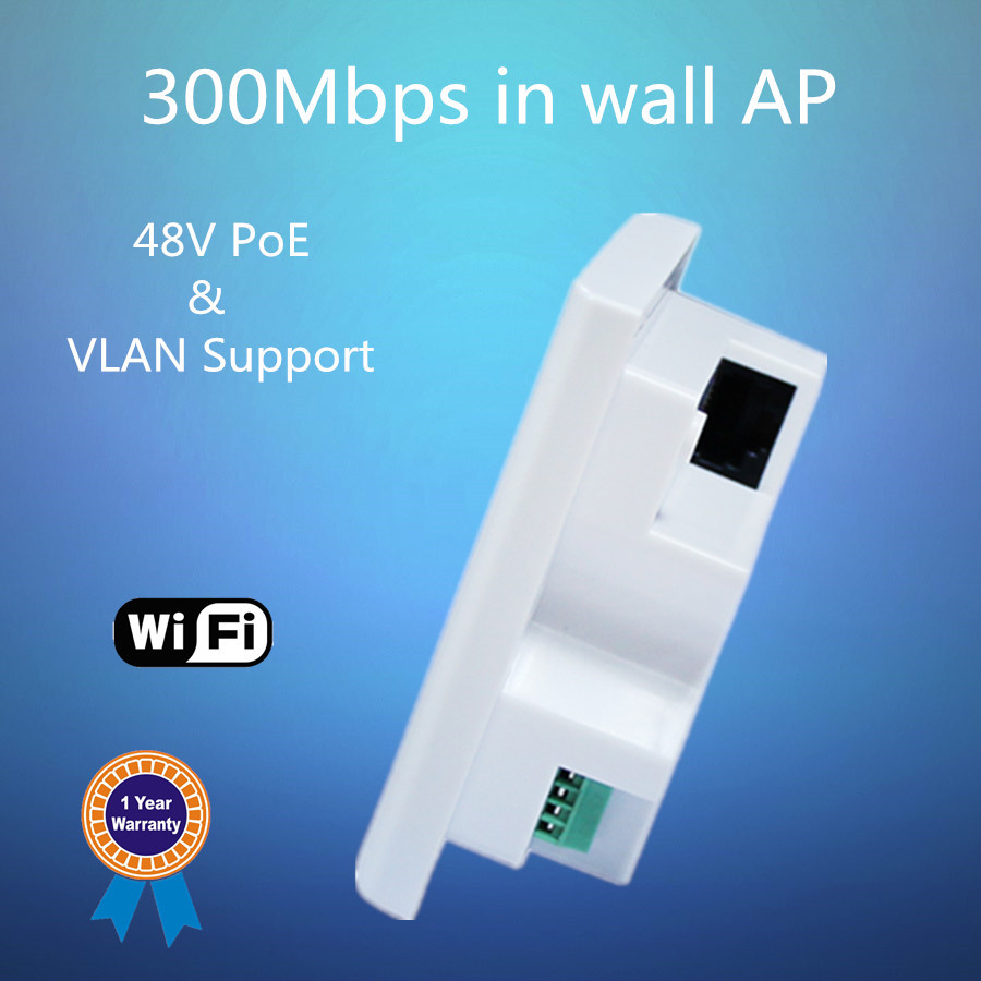 factory wireless built in access point Centralized management wifi hotel inwall ap embed access point