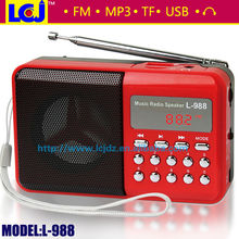 L-988 Hot usb flash driver digital mp3 player