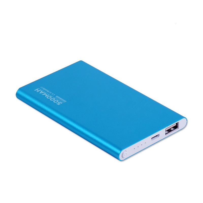 mini polymer mobile battery charger power bank 5000 mah