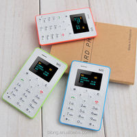 M5 Mini Card Phone Student Pocket Personality Children Phone very small mobile phone