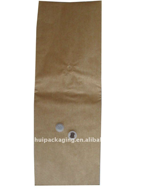 Good-quality kraft paper bag for coffee