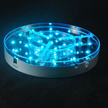 Rechargeable Wedding Decoration Light/LED Light Under Table/Multicolor Wedding Light Base