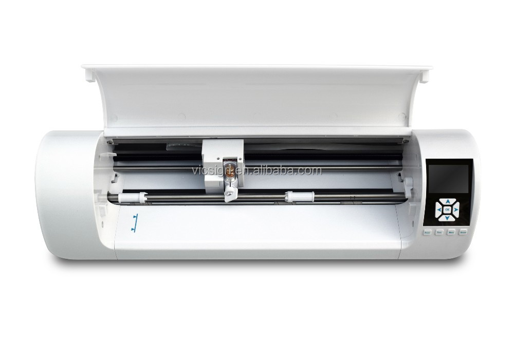 "2017 newest Q3 desktop vinyl cutter /A3 mini cutting plotter with automatic contour /vicsign 12"" new desktop cutter plotter"