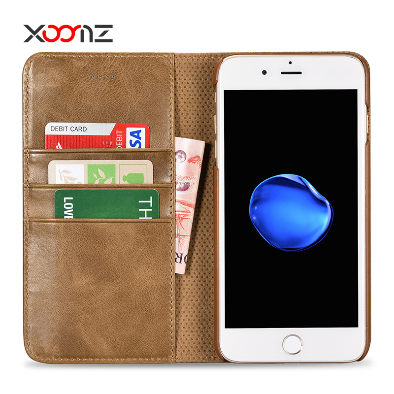 For iPhone 7 case cover genuine leather