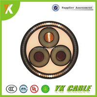 High Voltage HV YJV Insulation Steel Wire Amoured XLPE Swa Pvc Cable