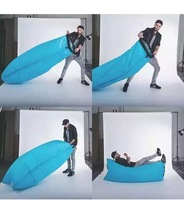 popular inflatable couch sleeping bag